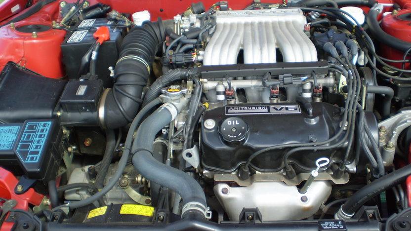 1998 Mitsubishi 3000 GT Coupe 5-Speed  presented as lot S9 at Kansas City, MO 2010 - image5