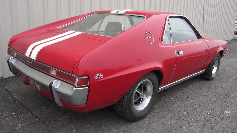 1969 AMC AMX 2-Door 390/335, 4-Speed presented as lot S17 at Kansas City, MO 2010 - image2