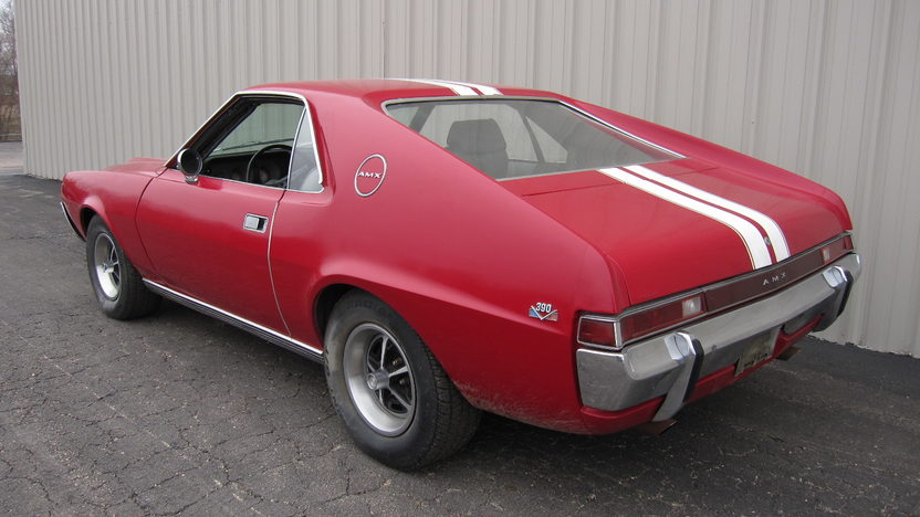 1969 AMC AMX 2-Door 390/335, 4-Speed presented as lot S17 at Kansas City, MO 2010 - image3
