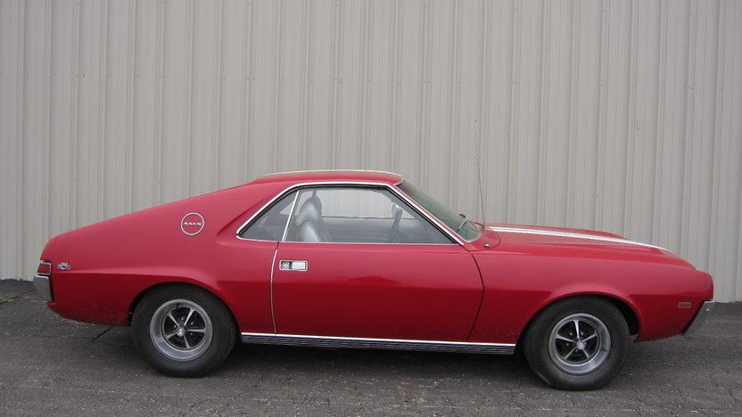 1969 AMC AMX 2-Door 390/335, 4-Speed presented as lot S17 at Kansas City, MO 2010 - image4