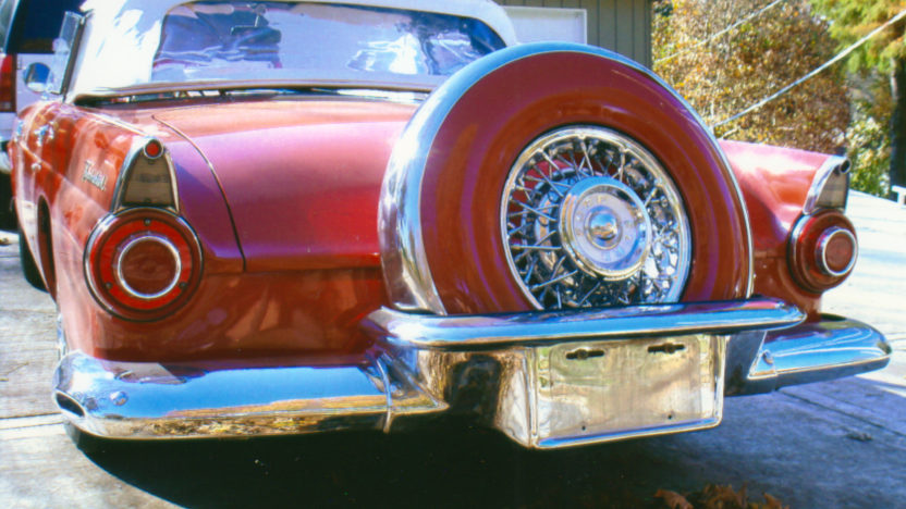 1956 Ford Thunderbird Convertible Automatic presented as lot S19 at Kansas City, MO 2010 - image2