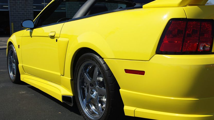 2001 Ford Mustang Roush Stage 3 Convertible presented as lot S32 at Kansas City, MO 2010 - image2