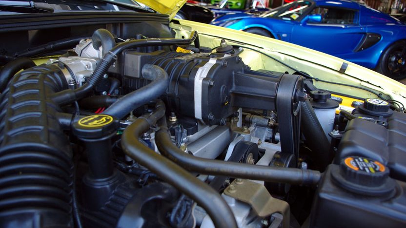 2001 Ford Mustang Roush Stage 3 Convertible presented as lot S32 at Kansas City, MO 2010 - image7