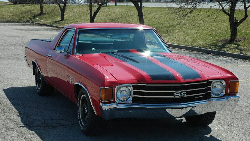 1972 Chevrolet El Camino Pickup 350/350, Automatic presented as lot S47 at Kansas City, MO 2010 - image2