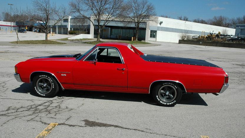 1972 Chevrolet El Camino Pickup 350/350, Automatic presented as lot S47 at Kansas City, MO 2010 - image3