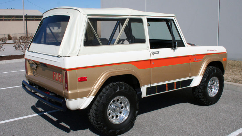 1976 Ford Bronco Truck 302 CI presented as lot S157 at Kansas City, MO 2010 - image2