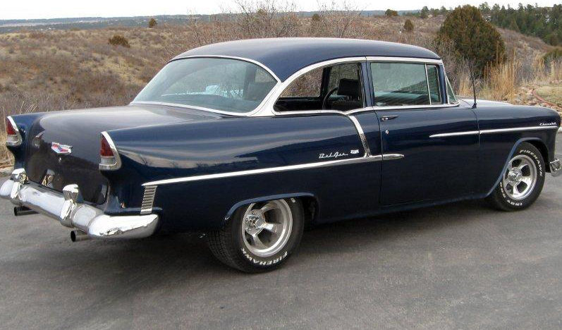 1955 Chevrolet Bel Air 2-Door 350 CI, Automatic presented as lot S164 at Kansas City, MO 2010 - image2