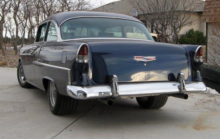1955 Chevrolet Bel Air 2-Door 350 CI, Automatic presented as lot S164 at Kansas City, MO 2010 - image3