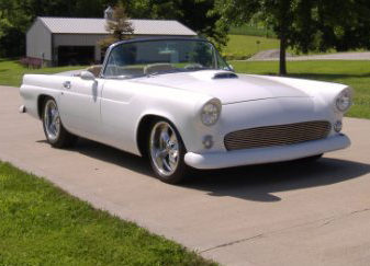 1955 Ford Thunderbird Convertible 4-Speed Automatic presented as lot S182 at Kansas City, MO 2010 - image2