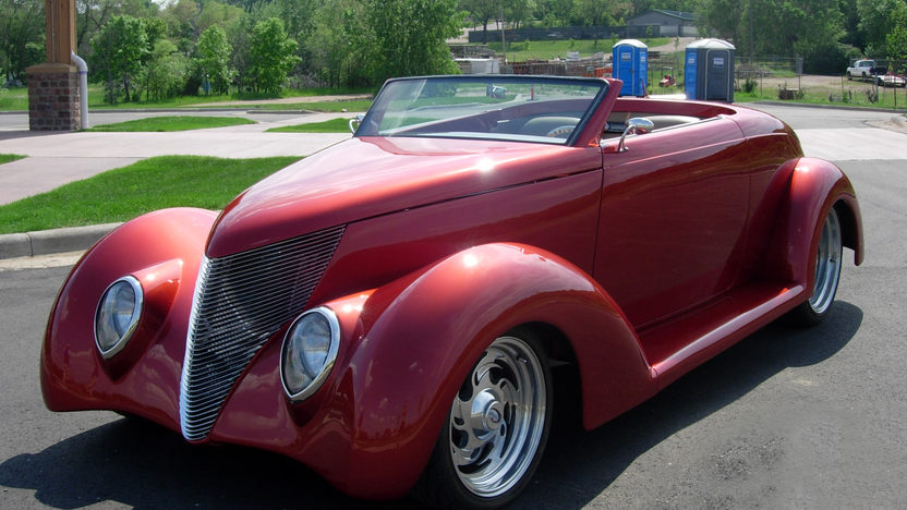 1937 Ford Coupe Street Rod presented as lot S183 at Kansas City, MO 2010 - image2