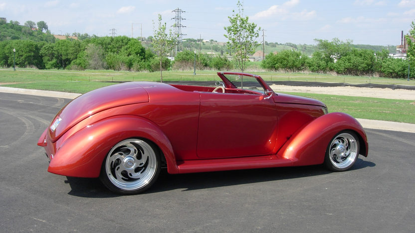 1937 Ford Coupe Street Rod presented as lot S183 at Kansas City, MO 2010 - image3