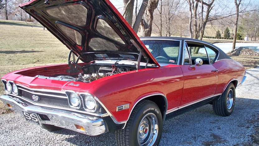 1968 Chevrolet Chevelle SS Replica 454 CI, 4-Speed  presented as lot S184 at Kansas City, MO 2010 - image2