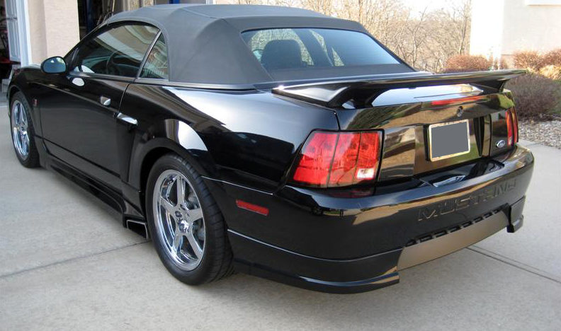 2001 Ford Mustang Roush Stage 3 Convertible 281/360 HP, 5-Speed presented as lot S207 at Kansas City, MO 2010 - image2