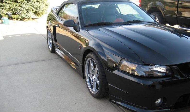 2001 Ford Mustang Roush Stage 3 Convertible 281/360 HP, 5-Speed presented as lot S207 at Kansas City, MO 2010 - image3