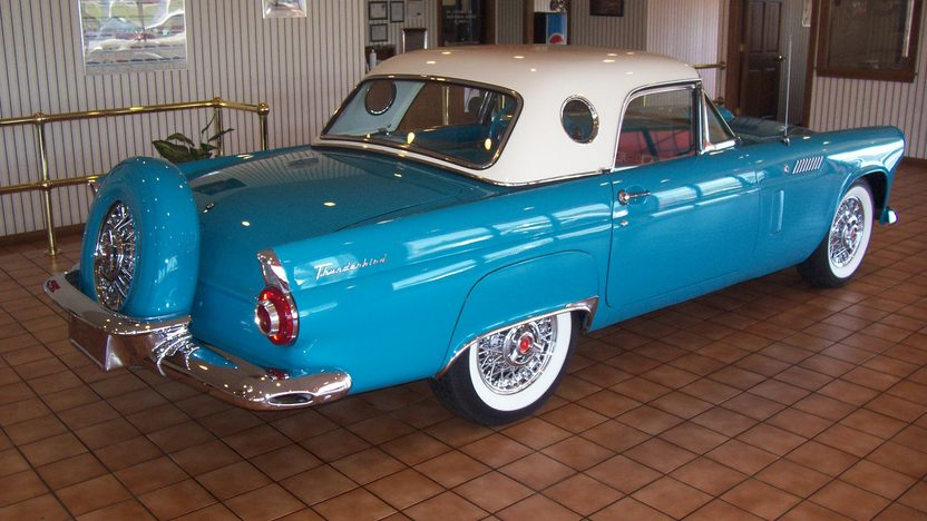1956 Ford Thunderbird 312/215 HP, Automatic presented as lot S70 at Kansas City, MO 2010 - image2