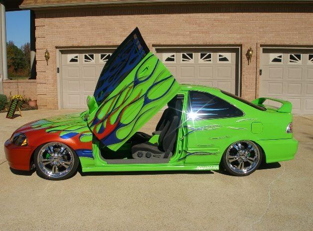 1998 Honda Civic EX Coupe presented as lot S85 at Kansas City, MO 2010 - image2
