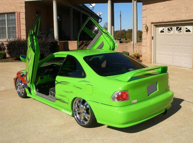 1998 Honda Civic EX Coupe presented as lot S85 at Kansas City, MO 2010 - image3