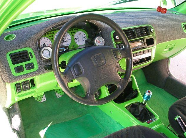 1998 Honda Civic EX Coupe presented as lot S85 at Kansas City, MO 2010 - image5