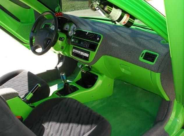 1998 Honda Civic EX Coupe presented as lot S85 at Kansas City, MO 2010 - image6