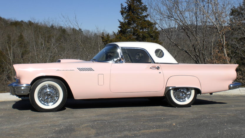1957 Ford Thunderbird 312 CI, Automatic presented as lot S91 at Kansas City, MO 2010 - image2