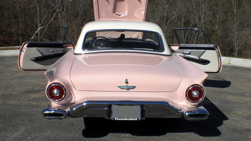 1957 Ford Thunderbird 312 CI, Automatic presented as lot S91 at Kansas City, MO 2010 - image3