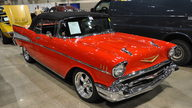 1957 Chevrolet Bel Air Convertible Automatic presented as lot S104 at Kansas City, MO 2010 - thumbail image2