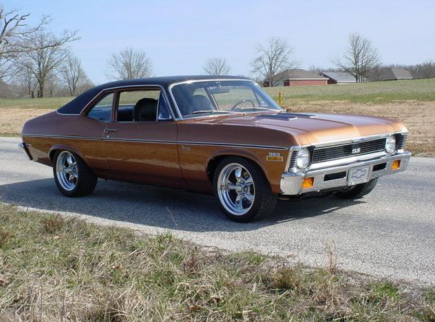 1972 Chevrolet Nova SS 2-door 383/425 HP, 5-Speed   presented as lot S115 at Kansas City, MO 2010 - image3