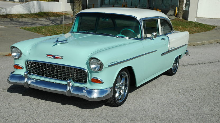 1955 Chevrolet Bel Air 2-Door 350/375 HP, 5-Speed  presented as lot S125 at Kansas City, MO 2010 - image7