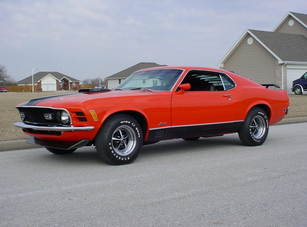 1970 Ford Mustang Mach 1 428/330HP, Cobra Jet, 4-Speed  presented as lot S126 at Kansas City, MO 2010 - image3