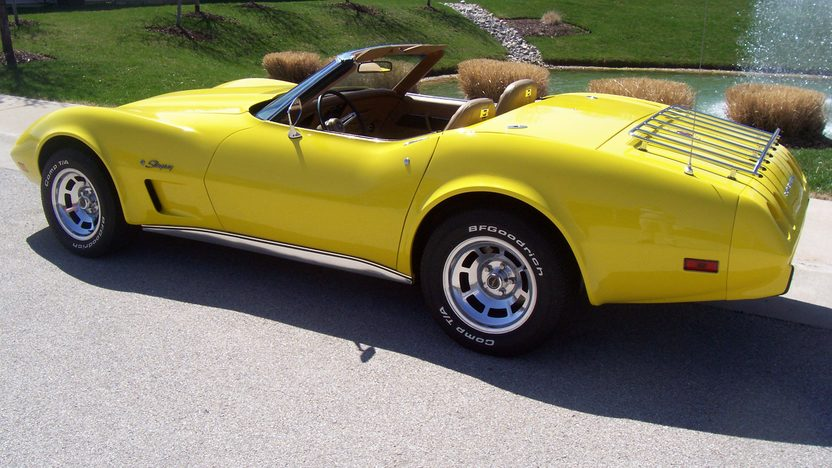 1975 Chevrolet Corvette Convertible 350/165 HP, Automatic presented as lot S132 at Kansas City, MO 2010 - image2