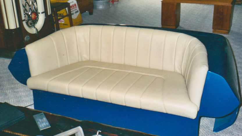 Memorabilia 1987 Corvette Couch presented as lot Z213 at Kansas City, MO 2010 - image2