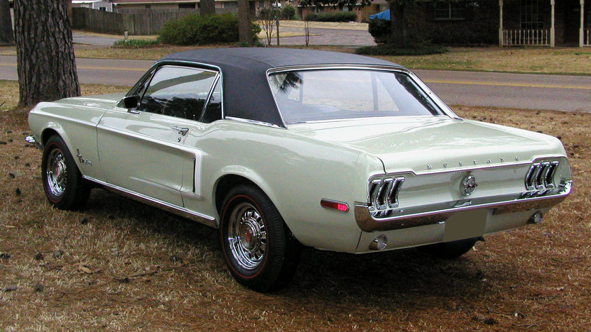 1968 Ford Mustang Challenger Coupe 302/230 HP, 3-Speed presented as lot S101 at Kansas City, MO 2010 - image2