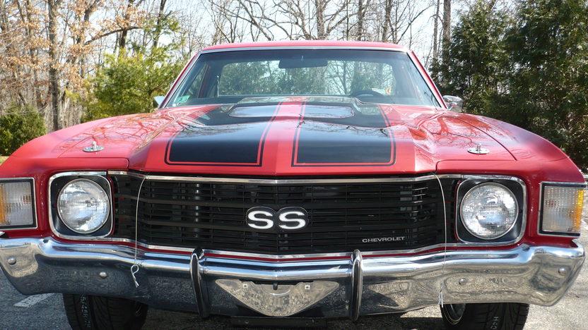 1972 Chevrolet El Camino SS 350 HP, Automatic presented as lot F252 at Kansas City, MO 2010 - image3