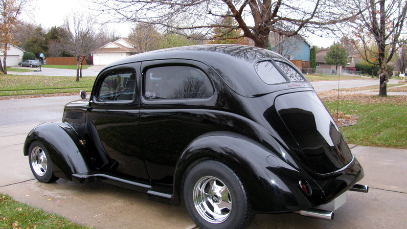 1937 Ford Slant Back Sedan 302/300 HP, Automatic presented as lot F71 at Kansas City, MO 2010 - image2