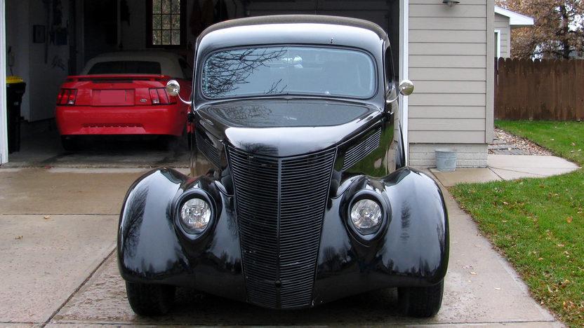 1937 Ford Slant Back Sedan 302/300 HP, Automatic presented as lot F71 at Kansas City, MO 2010 - image3