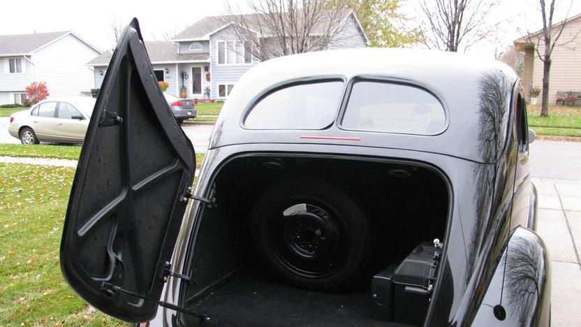 1937 Ford Slant Back Sedan 302/300 HP, Automatic presented as lot F71 at Kansas City, MO 2010 - image4