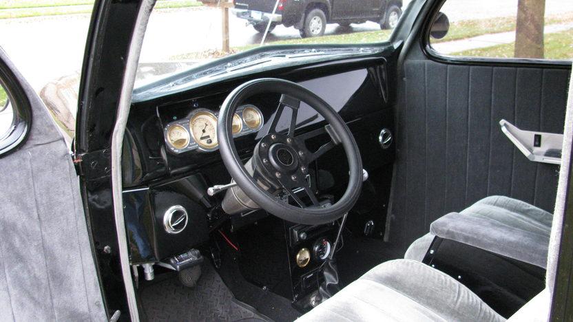 1937 Ford Slant Back Sedan 302/300 HP, Automatic presented as lot F71 at Kansas City, MO 2010 - image5