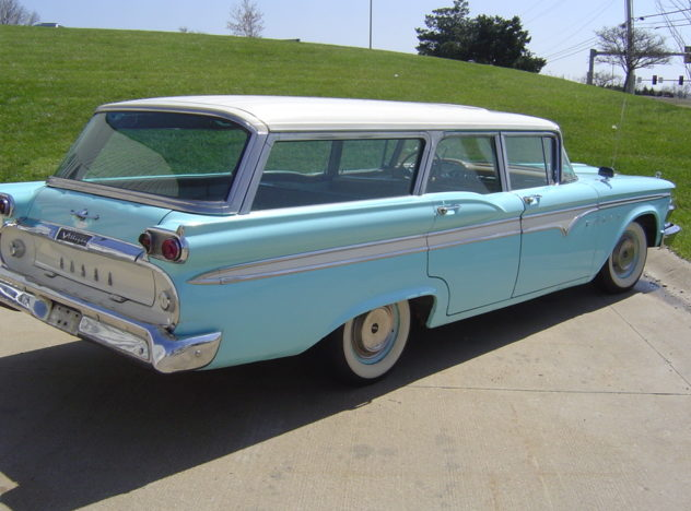 1959 Edsel Villager Station Wagon Automatic presented as lot S12 at Kansas City, MO 2010 - image2