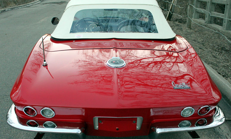 1966 Chevrolet Corvette Convertible 327/300 HP, 4-Speed presented as lot S51 at Kansas City, MO 2011 - image2