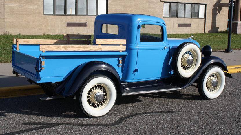 1934 Dodge Model KC 1/2 Ton Pickup 3-Speed presented as lot S123 at Kansas City, MO 2011 - image2