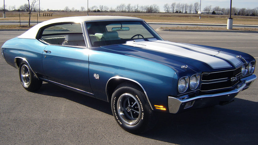 1970 Chevrolet Chevelle SS 454/450 HP, 4-Speed presented as lot S23 at Kansas City, MO 2012 - image6
