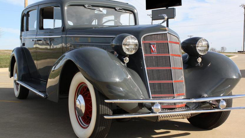 1934 cadillac 355d 2 door sedan mecum kansas city 2012 for 1934 pontiac 4 door sedan