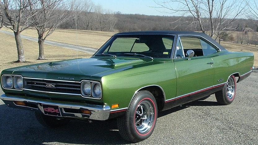 1969 Plymouth Gtx 2 Door Hardtop Mecum Kansas City 2012