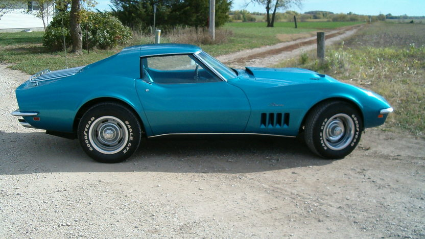 1969 Chevrolet Corvette 427/430 HP, 4-Speed presented as lot S197 at Kansas City, MO 2012 - image9