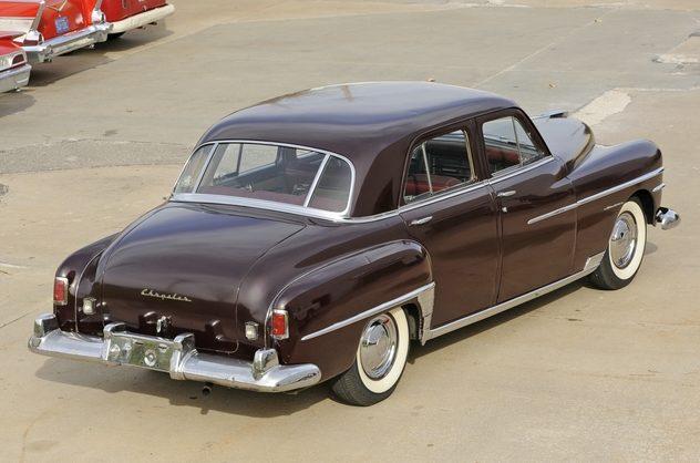 1950 Chrysler Windsor 4 Door Mecum Kansas City 2012 S223