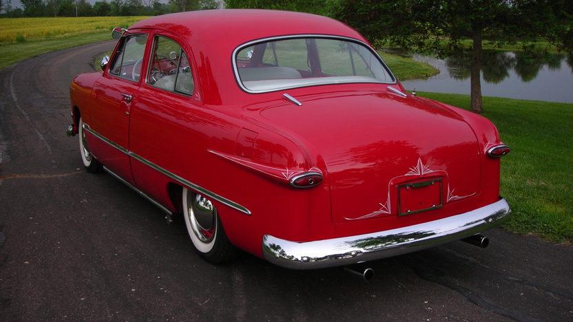 1950 Ford Custom 239/100 HP, 3-Speed presented as lot T51 at Kansas City, MO 2013 - image2