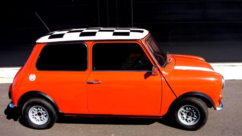 1969 Austin Mini 4-Speed, New Interior presented as lot T60 at Kansas City, MO 2013 - image2