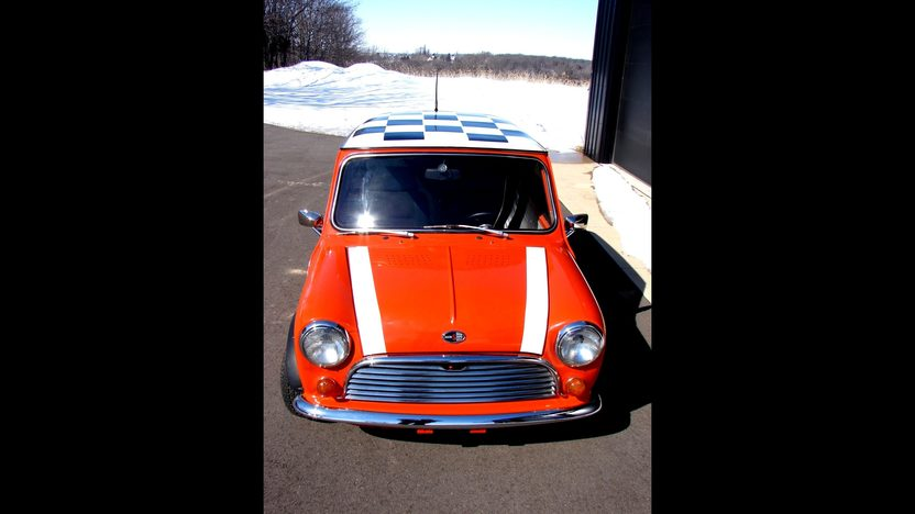 1969 Austin Mini 4-Speed, New Interior presented as lot T60 at Kansas City, MO 2013 - image8