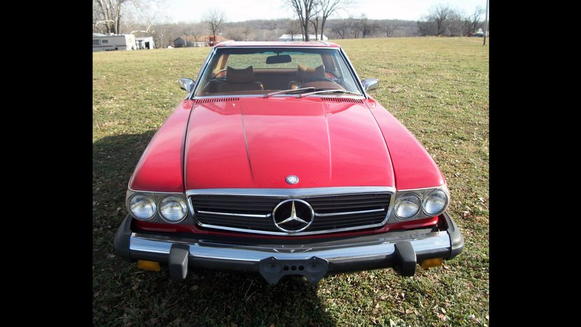 1974 Mercedes-Benz 450SL presented as lot T111 at Kansas City, MO 2013 - image5