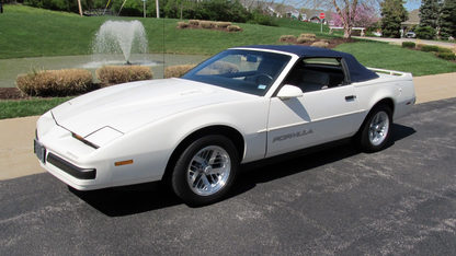 1989 Pontiac Firebird Formula Convertible